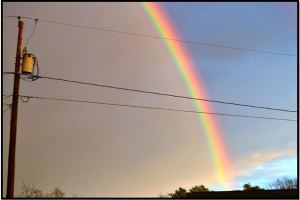 There IS a pot of gold down there and it is filled with love.